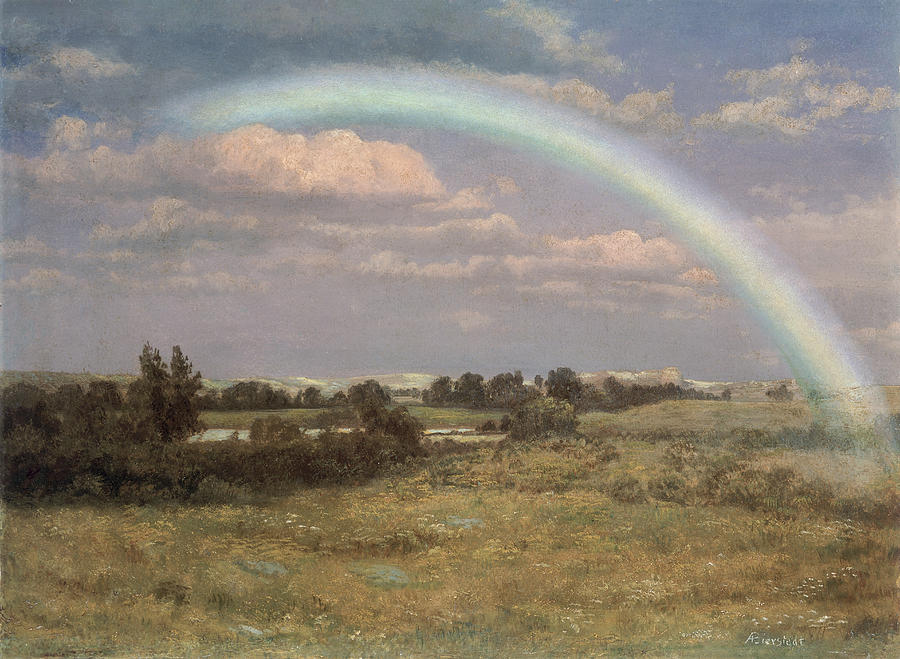 After The Storm Painting - After The Storm by Albert Bierstadt