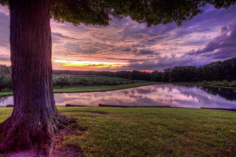 After the Storm at Mapleside Farms by Brent Durken