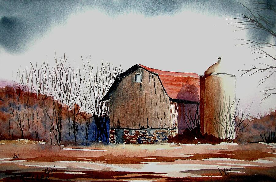 Barn Painting - After The Storm by John Keller