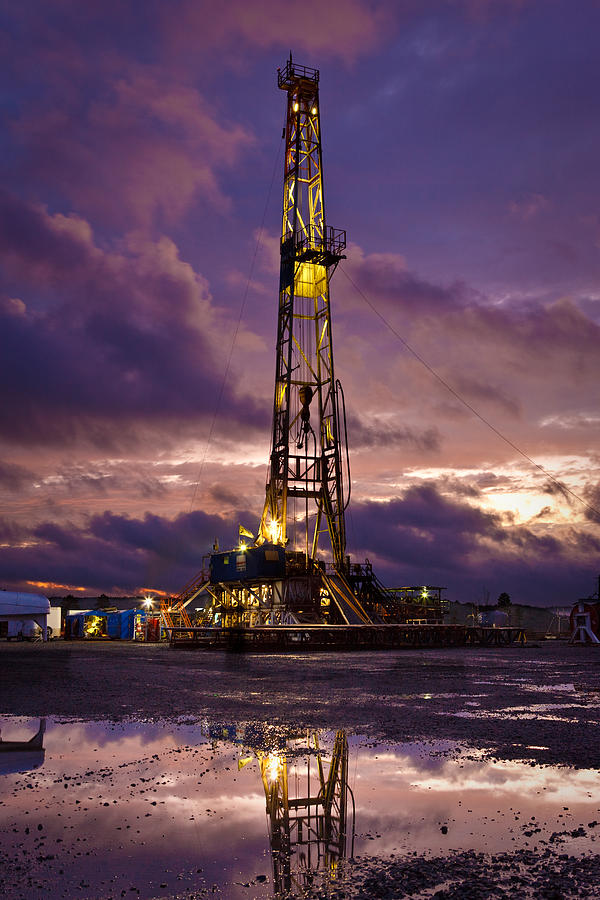 Driller Photograph - After The Storm by Jonas Wingfield