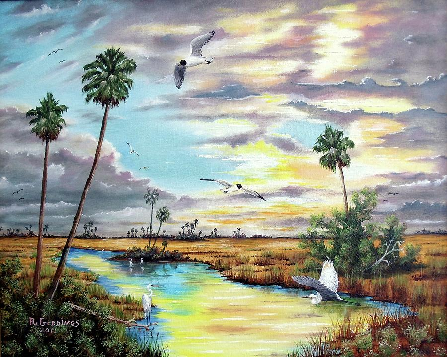 Art Work Painting - After The Storm by Riley Geddings