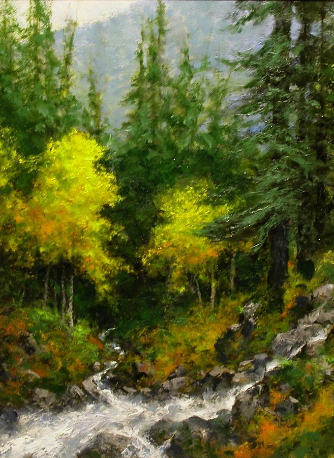 Landscapes Painting - After The Storm September by Jim Gola