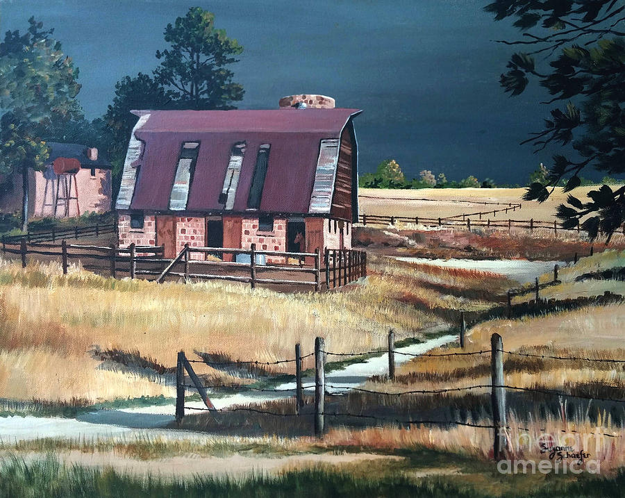 Scene Painting - After The Storm by Suzanne Schaefer