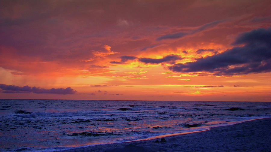 Sunset Photograph - After The Sunset by Sandy Keeton
