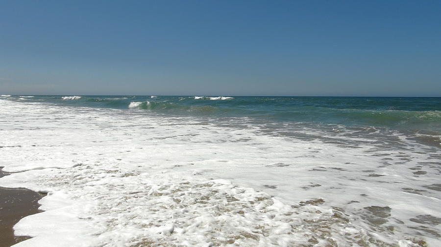 Sea Photograph - After Wave by Atul Daimari