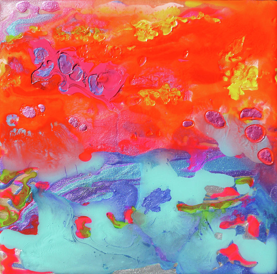 Afterglow Painting - Afterglow #6 by Joseph Demaree