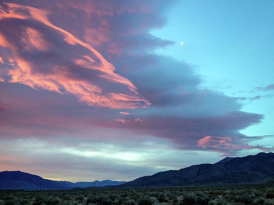 Clouds Photograph - Afterglow by Jennifer McMahon