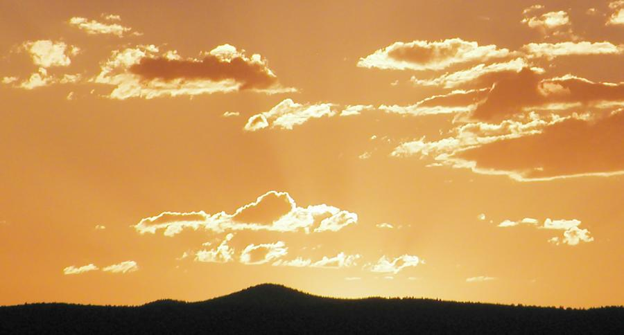 New Mexico Landscape Photograph - Afterglow  by Look Visions