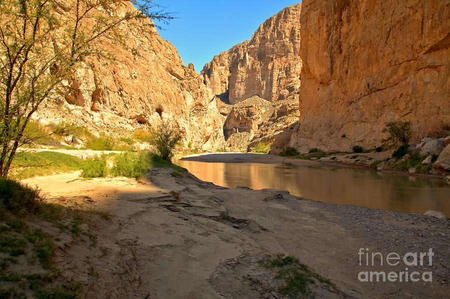 Boquillas Canyon Photograph - Afternoon At Boquillas Canyon by Adam Jewell