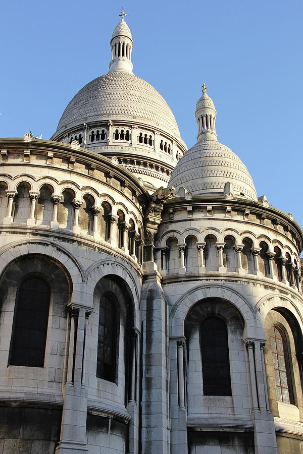 France Photograph - Afternoon At Sacre Coeur by Sean Flynn