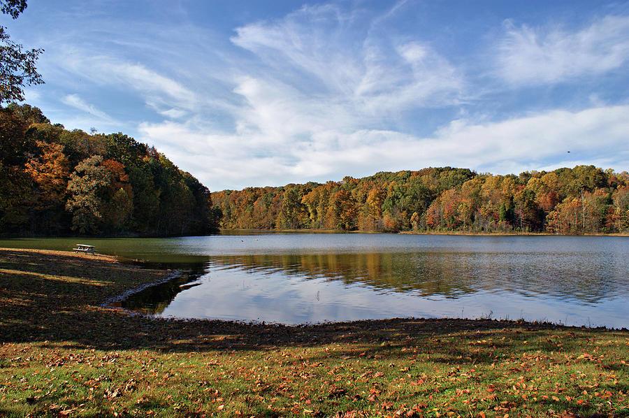 Lake Photograph - Afternoon At The Lake by Sandy Keeton