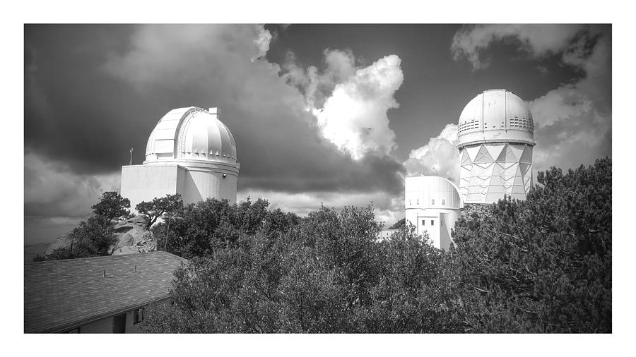 Kitt Peak Photograph - Afternoon clouds at the observatory by James Scotti