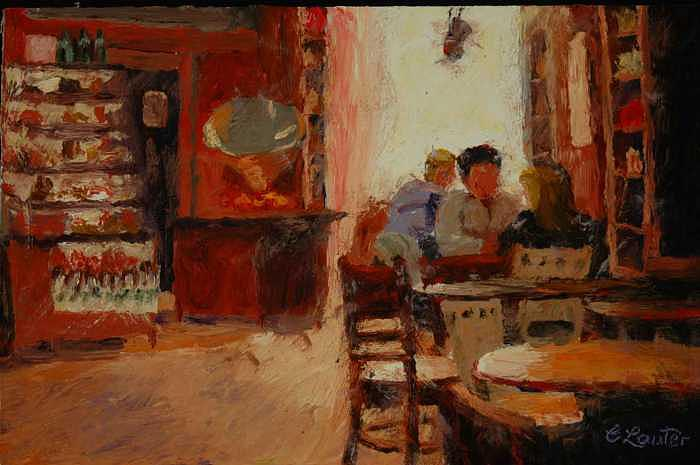 Afternoon Espresso Painting by Colleen Murphy