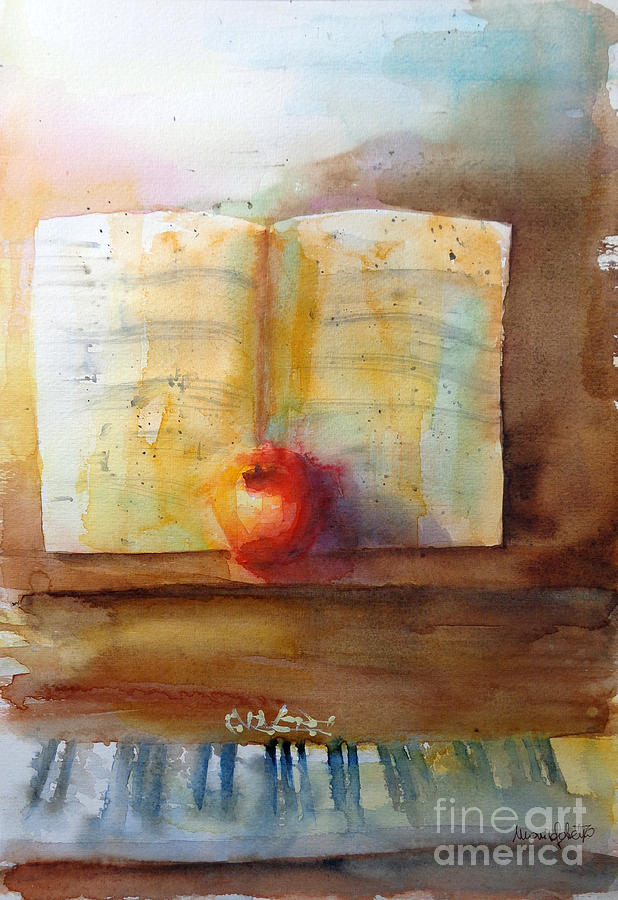 Still Life Painting - Afternoon Glow by Marisa Gabetta