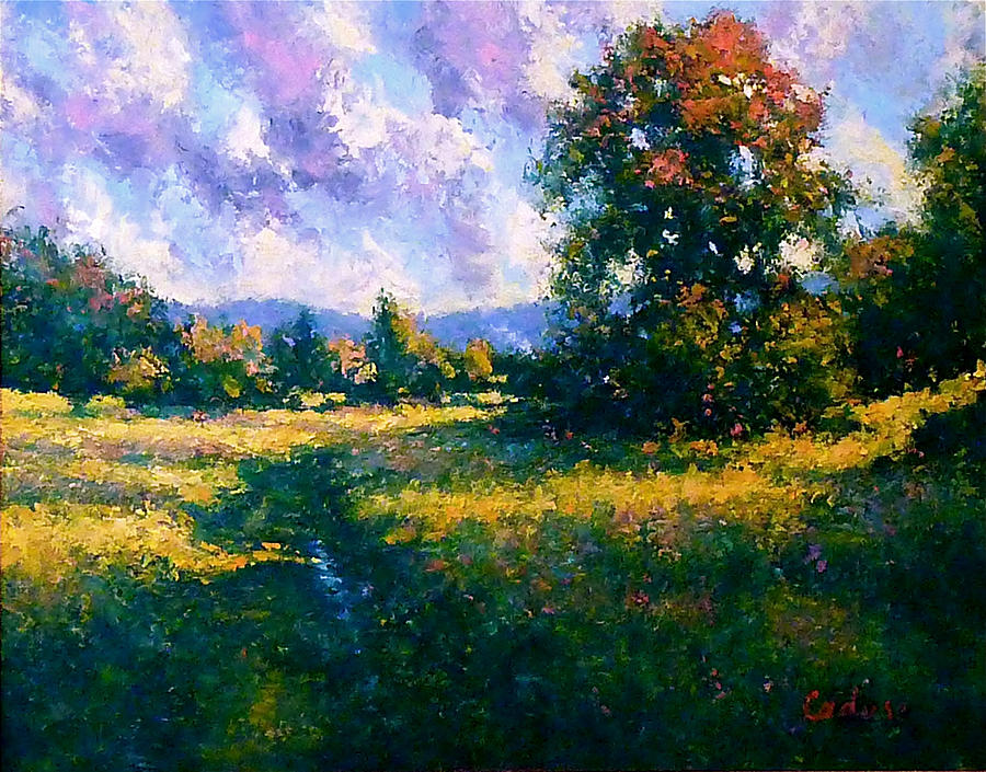 Afternoon In Dutchess County Painting by Gene Cadore