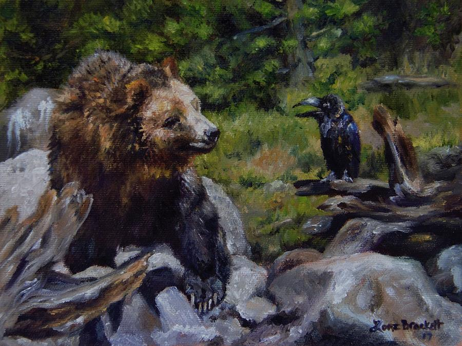 Afternoon Neigh-bear by Lori Brackett