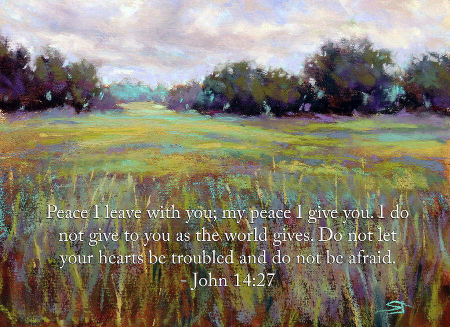Afternoon Serenity with Bible verse by Susan Jenkins