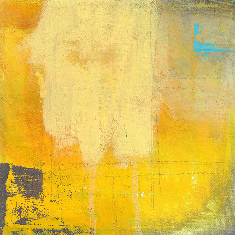 Abstract Painting - Afternoon Sun -Large by Linda Woods