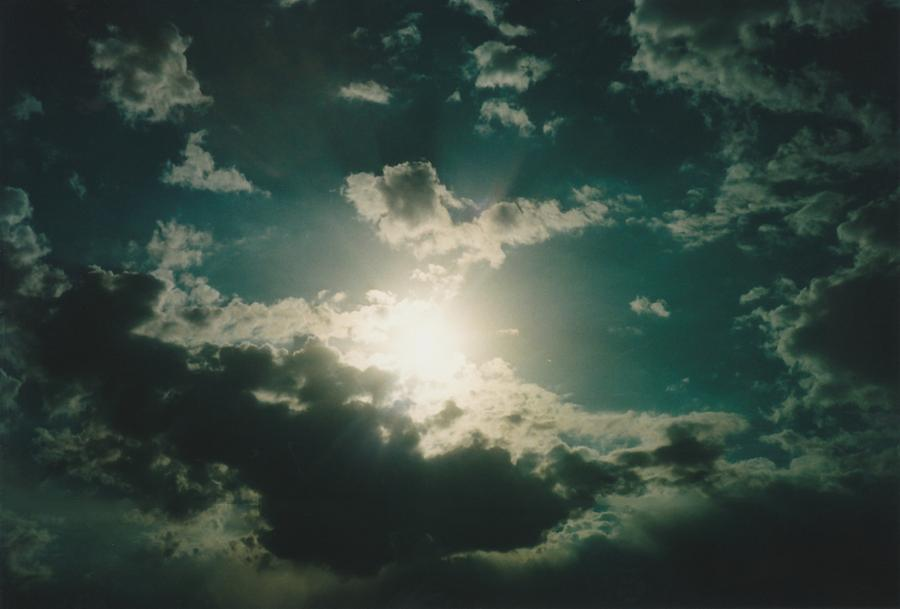 Sky Photograph - Afternoon Sun Oklahoma  by Gene Linder