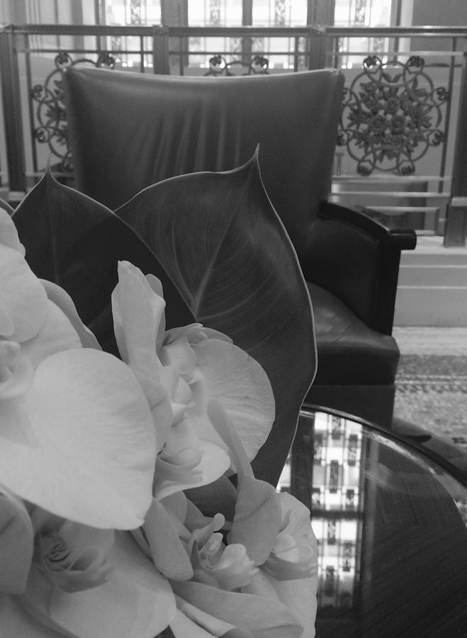 Orchids Photograph - Afternoon Tea At The Waldorf by Tara Miller