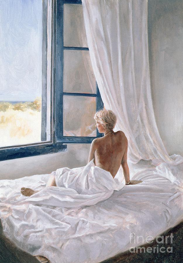 Nude Painting - Afternoon View by John Worthington