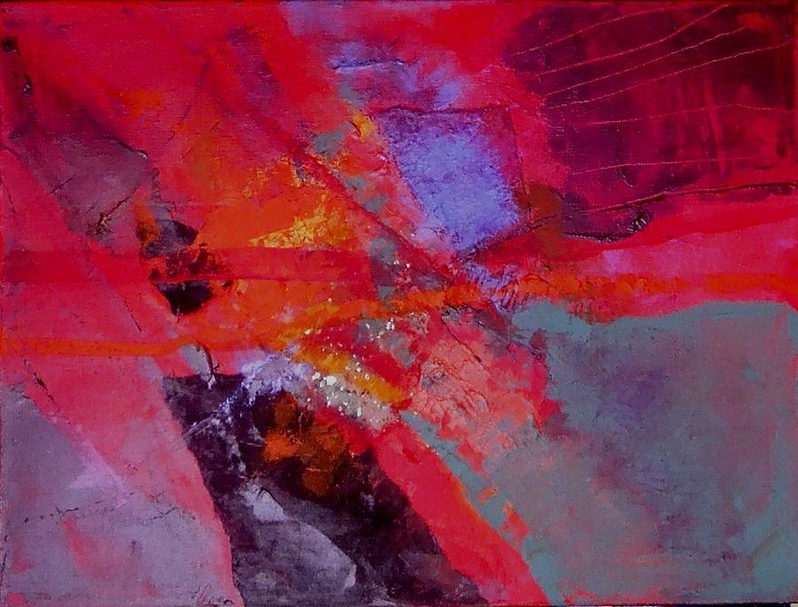 Against the Sun Mixed Media by Jo Ann Brown-Scott