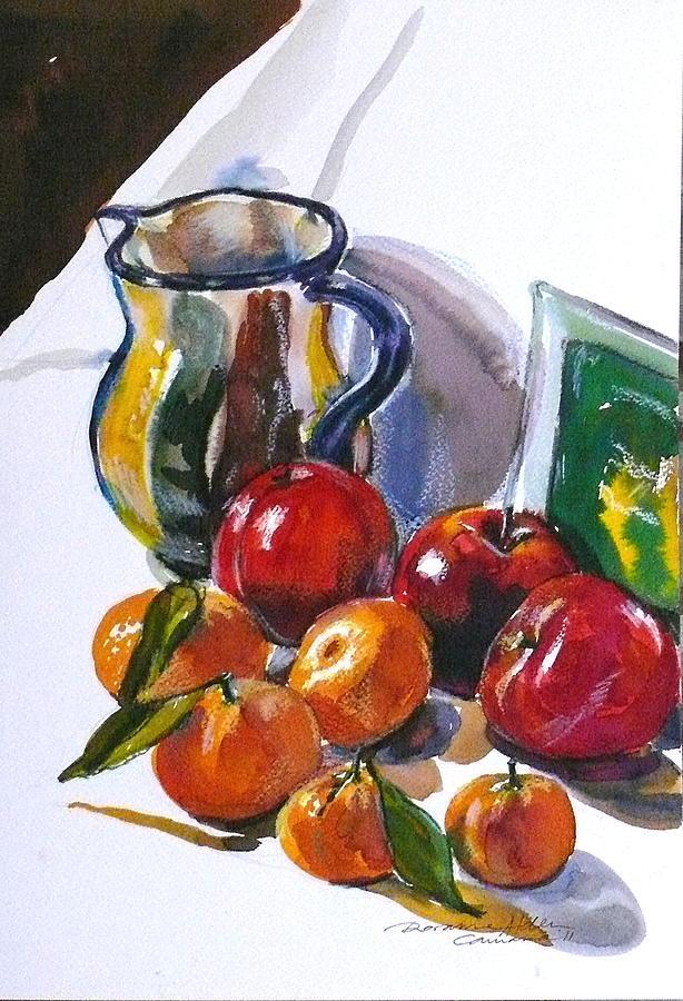 Still Life Painting - Againt The Light by Doranne Alden