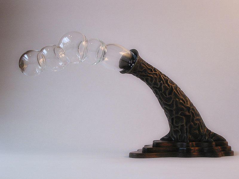 Bronze Sculpture - Agaricia Bullio by Patricia Van Lubeck