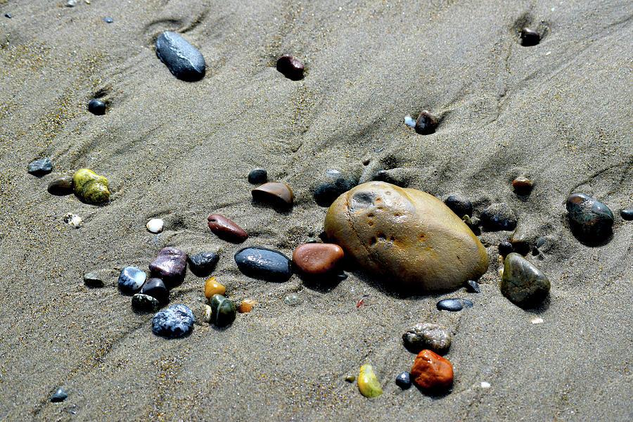 Agates On Bandon Beach Photograph