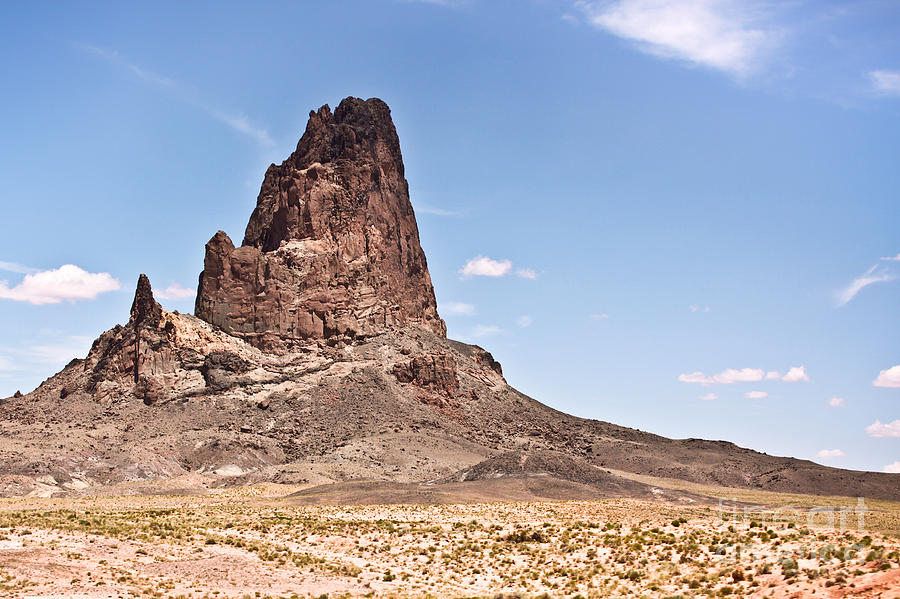 Arizona Photograph - Agathla Peak by Ryan Kelly