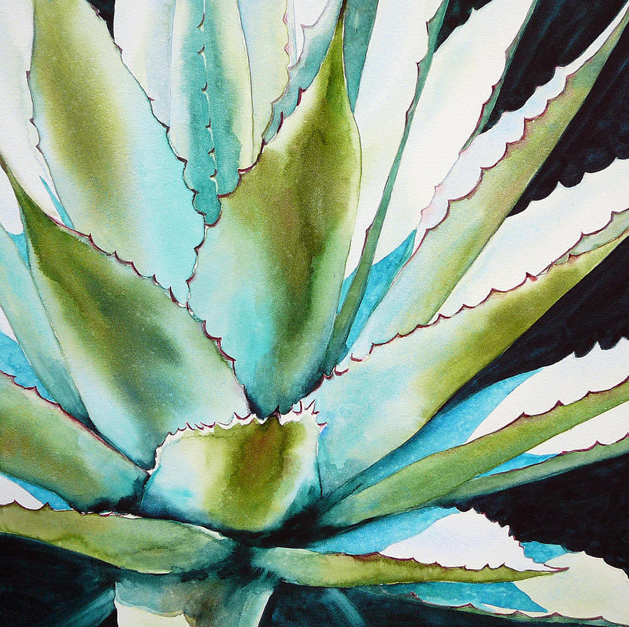 Plant Paintings On Canvas