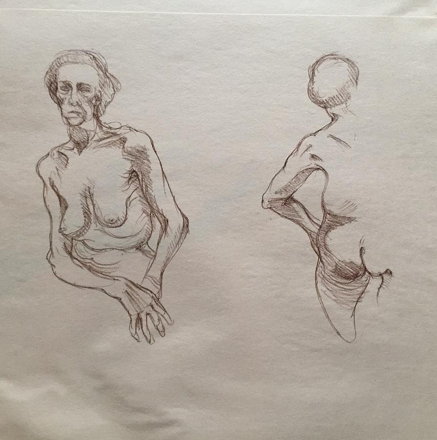 Age Drawing by Anastasiya Baron