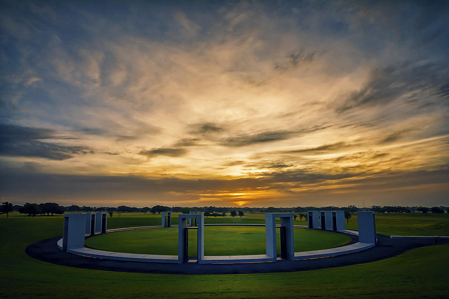 Aggie Bonfire Memorial Photograph