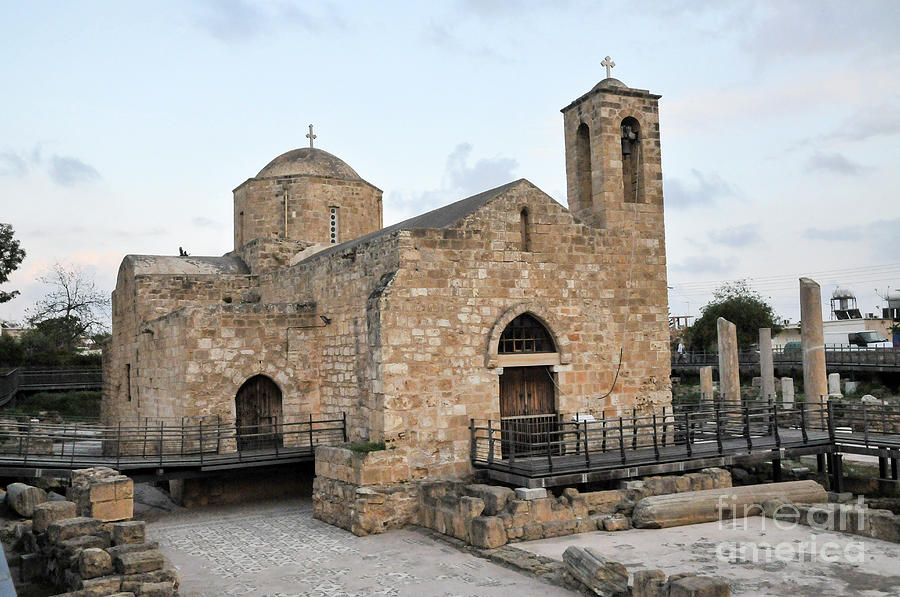 Basilica Photograph - Agia Kyriaki, Paphos, Cyprus by Shay Levy