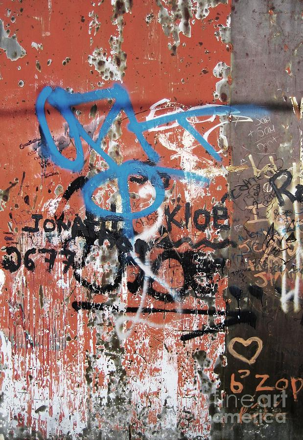 Graffitti Photograph - Aging Walls by Reb Frost