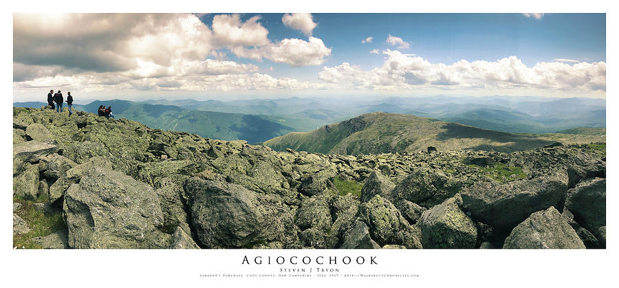 Family Photograph - Agiocochook by Steven Tryon