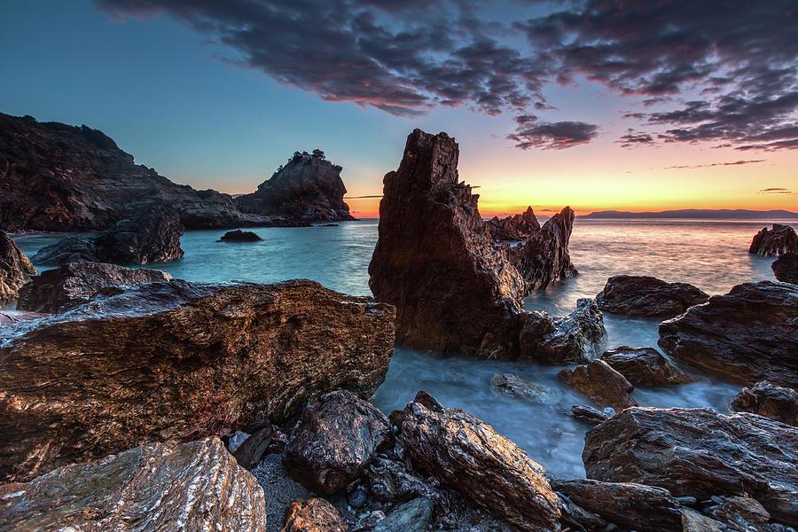 Aegean Sea Photograph - Agios Ioannis by Evgeni Dinev