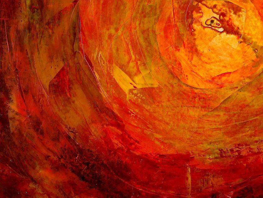Ago1 Painting by Emilio B Campo- Diaz
