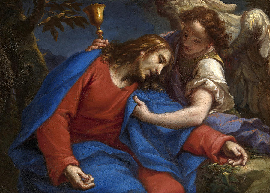 francesco trevisani painting agony in the garden by francesco trevisani - Agony In The Garden