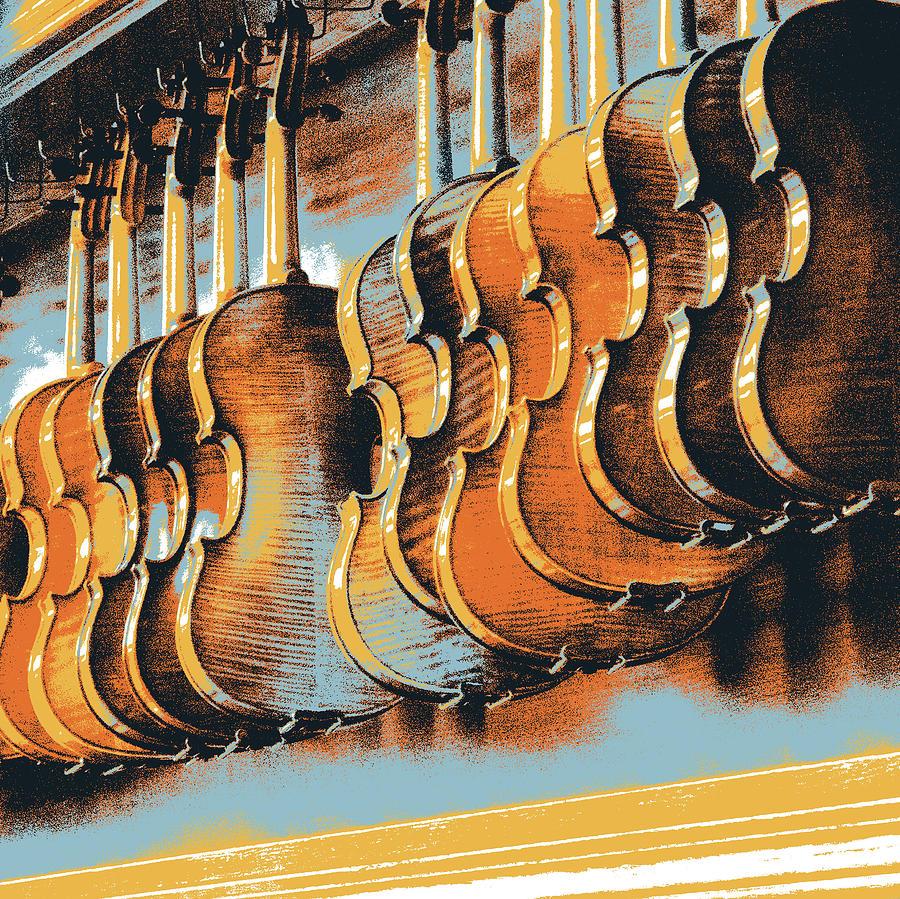 Violins Mixed Media - Agony Of Choice 2 by Shay Culligan