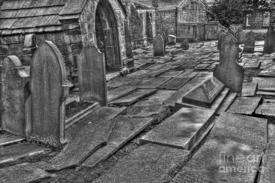 Heptonstall Photograph - Agro Mortuorum Duo by John Ellison