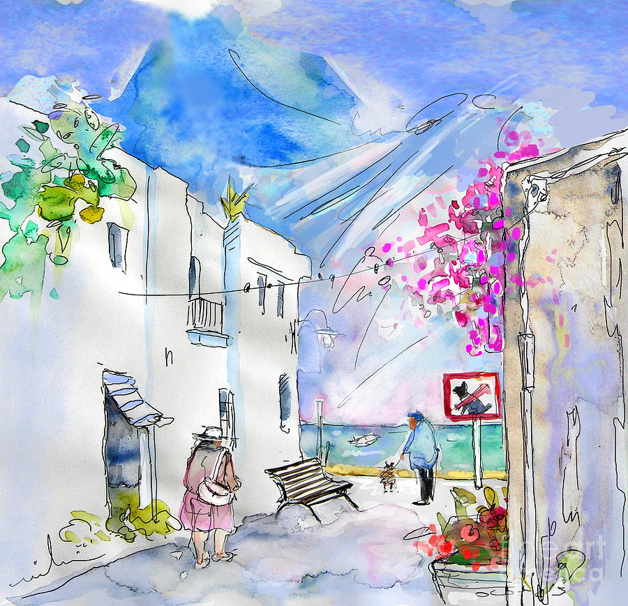 Almeria Painting - Agua Amarga 06 by Miki De Goodaboom