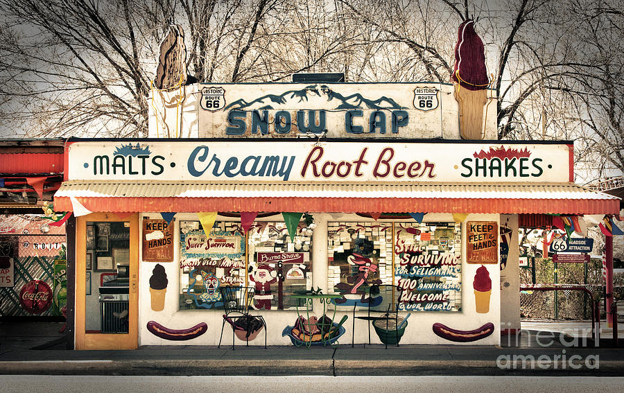 Route 66 Photograph - Ah - Such Sweet Memories by Sandra Bronstein