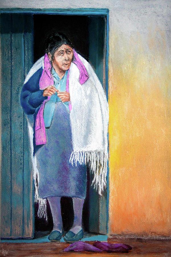 Guatemala Pastel - Ah The Morning Sunshine by Philip Lodwick Wilkinson