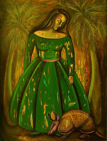 Armadillo Painting - Ahhhh The Men We Love by Lina Scarfi