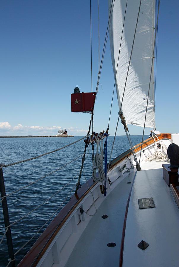 Sailing Photograph - Ahoy by Becca Brann