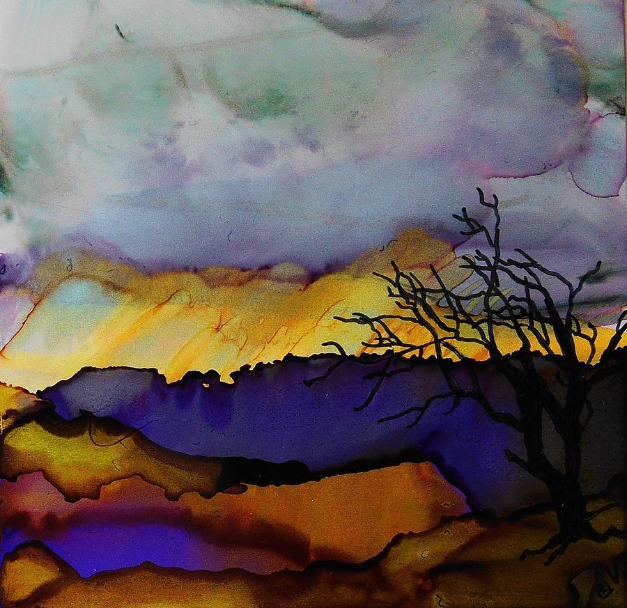Rain Clouds - A 227 by Catherine Van Der Woerd