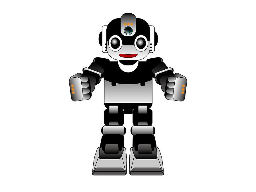Ai Robot Digital Art by Moto-hal