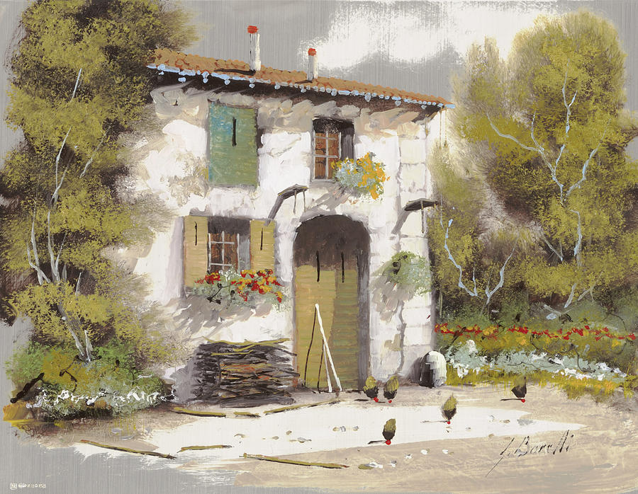 Country Painting - AIA by Guido Borelli