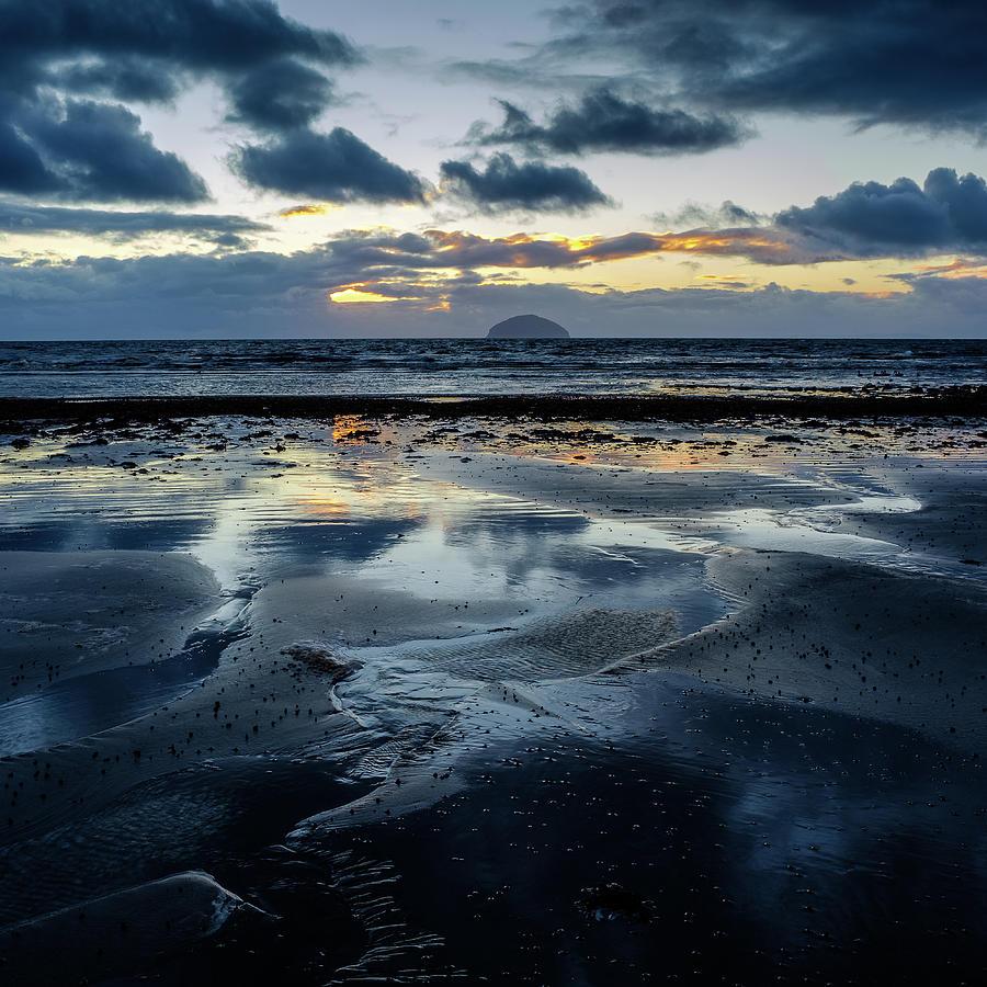 Scotland Photograph - Ailsa Craig by Peter OReilly